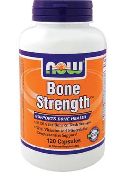 NOW Bone Strength, капсулы, 120 шт.
