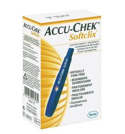 Accu-Chek Softclix Устройство для прокалывания пальца, в наборе + 25 ланцетов, 1 шт.