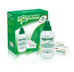Долфин при аллергии Устройство 240 мл + средство для промывания носа N30, для взрослых, 240 мл, 1 шт.