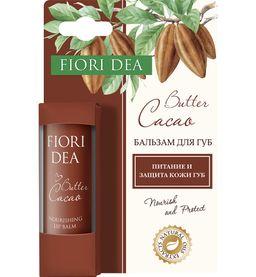 Fiori Dea Бальзам для губ Масло какао, бальзам для губ, питательный, 4.5 г, 1шт.