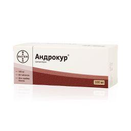 Андрокур, 100 мг, таблетки, 60 шт.