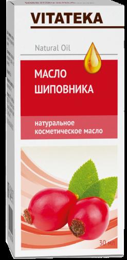 Витатека Масло шиповника, масло косметическое, 30 мл, 1 шт.