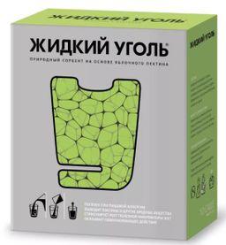 Жидкий уголь, порошок для приготовления раствора для приема внутрь, для взрослых, 7 г, 10 шт.