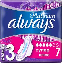 Always Platinum Ultra Super plus прокладки женские гигиенические