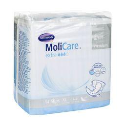 MoliCare Premium Extra soft Подгузники воздухопроницаемые, Extra Large XL (4), 150-175см, 14 шт.