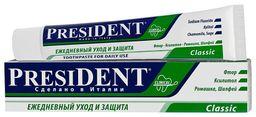 PresiDent Classic зубная паста, паста зубная, 100 мл, 1 шт.