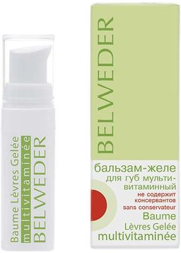 Belweder Бальзам-желе для губ мультивитаминный, 5 мл, 1шт.