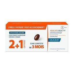 Ducray Анакапс Реактив для волос и кожи головы, 812 мг, капсулы, 90 шт.