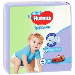 Huggies Подгузники-трусики детские, р. 4, 9-14 кг, для мальчиков, 17 шт.