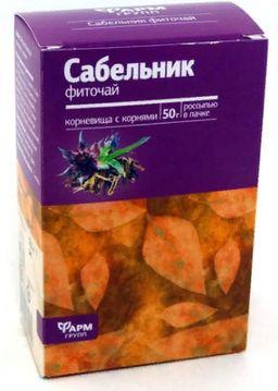 Сабельник, фиточай, 50 г, 1 шт.
