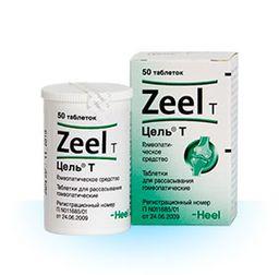 Цель Т, таблетки для рассасывания гомеопатические, 50 шт.