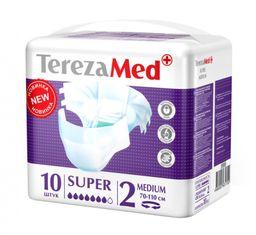 TerezaMed Super подгузники для взрослых ночные, Medium M (2), 70-110 см, 10шт.