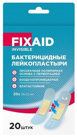 Fixaid Invisible Лейкопластырь бактерицидный влагостойкий