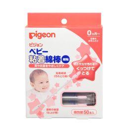 Pigeon ватные палочки с липкой поверхностью, в индивидуальных упаковках, 50 шт.