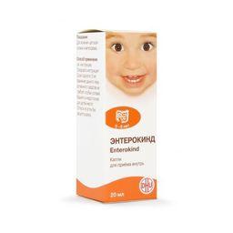 Энтерокинд, капли для приема внутрь гомеопатические, 20 мл, 1 шт.