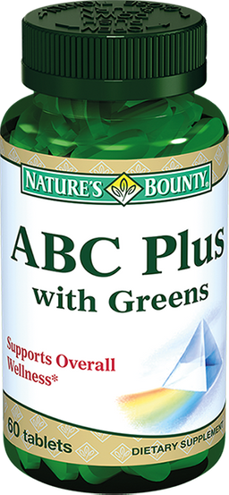 Nature's bounty ABC plus
