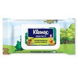 Kleenex Салфетки влажные антибактериальные, салфетки влажные, 40шт.