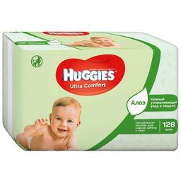 Huggies ultra comfort салфетки влажные детские
