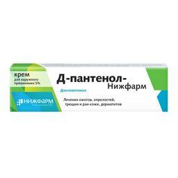Д-Пантенол-Нижфарм, 5%, крем для наружного применения, 50 г, 1 шт.