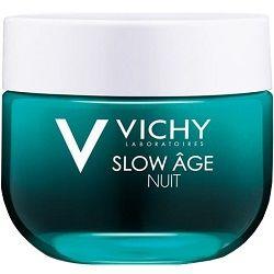 Vichy Slow Age ночной крем и маска, крем для лица, 50 мл, 1 шт.