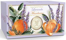 Fiori Dea Мыло туалетное Лаванда и мандарин, мыло, 125 г, 2шт.
