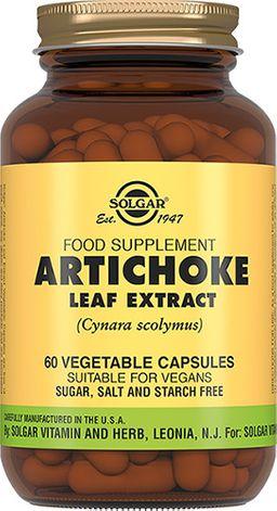 Solgar Экстракт из листьев артишока, капсулы, 60 шт.