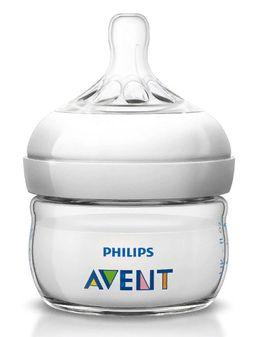 Бутылочка Philips AVENT Natural полипропиленовая, 0-6мес, 60 мл, 1 шт.