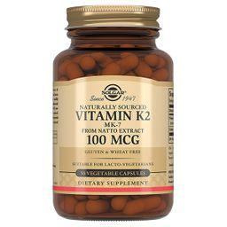 Solgar Витамин К2, 100 мкг, капсулы, 50 шт.