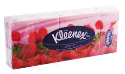 Kleenex Платки носовые бумажные клубника, 10 шт.