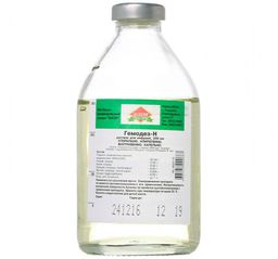 Гемодез-Н, раствор для инфузий, 200 мл, 1 шт.