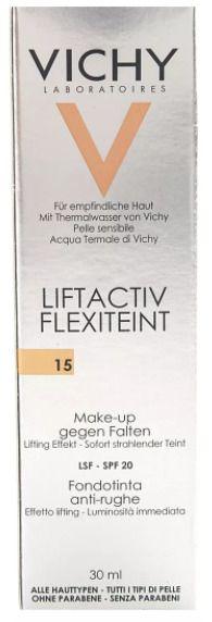 Vichy Liftactiv Flexilift крем тональный тон 15, крем, 30 мл, 1шт.