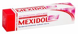 Mexidol dent Sensitive Зубная паста, паста зубная, 65 г, 1 шт.