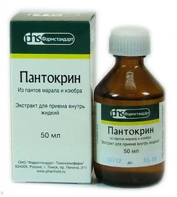 Пантокрин, экстракт жидкий для приема внутрь, 50 мл, 1 шт.