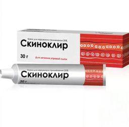 Скиноклир, 20%, крем для наружного применения, 30 г, 1 шт.