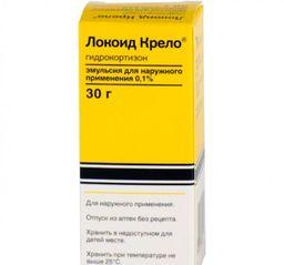 Локоид крело, 0.1%, эмульсия для наружного применения, 30 г, 1 шт.