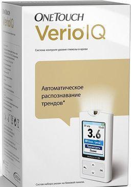 OneTouch Verio IQ Глюкометр, 1шт.