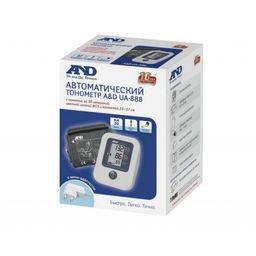 Тонометр автоматический AND UA-888 AC с адаптером и универсальной манжетой, 1 шт.