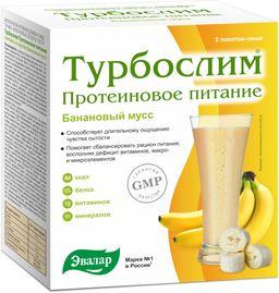 Турбослим Протеиновое питание Коктейль Банановый мусс