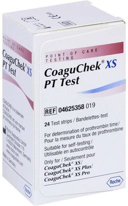 КоагуЧек XS Тест-полоски, тест-полоска, 24 шт.