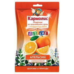 Кармолис Леденцы с медом и витамином С, 4.16 г, леденцы, со вкусом апельсина, 75 г, 1 шт.
