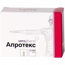 Апротекс, 10000 АТрЕ, лиофилизат для приготовления раствора для внутривенного введения, 10шт.