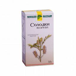 Солодки корни, сырье растительное измельченное, 50 г, 1шт.