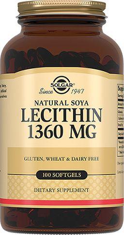 Solgar Натуральный соевый лецитин