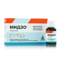 Мидзо, 60 мг/мл, капли для приема внутрь, 15 мл, 4 шт.