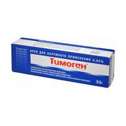 Тимоген (крем), 0.05%, крем для наружного применения, 30 г, 1 шт.