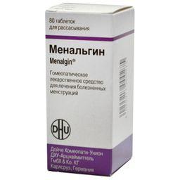 Менальгин, таблетки для рассасывания, 80шт.