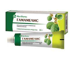 Гамамелис, мазь для наружного применения гомеопатическая, 30 г, 1 шт.