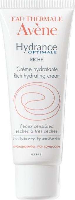 Avene Hydrance Optimale Riche крем увлажняющий для сухой кожи, крем для лица, 40 мл, 1шт.