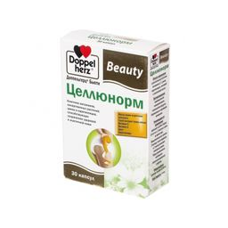 Доппельгерц Бьюти Целлюнорм, 1244 мг, капсулы, 30шт.