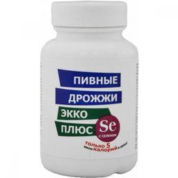 Пивные дрожжи Экко Плюс с селеном, 450 мг, таблетки, 100 шт.